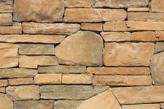 Pieza de una pared de piedra, para el fondo o la textura Fotos de archivo