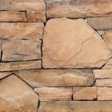 Pieza de una pared de piedra, para el fondo o la textura Foto de archivo libre de regalías