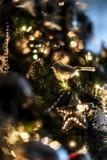Pieza del árbol de navidad Imágenes de archivo libres de regalías