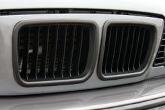 Pieza del coche gris fotografía de archivo libre de regalías