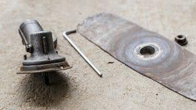 Pieza del cortador de cepillo Fotografía de archivo libre de regalías