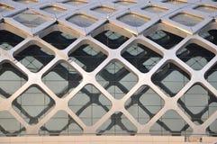 Pieza del external de la construcción de la estructura de acero Foto de archivo libre de regalías