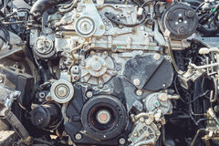 Pieza del motor de coche Foto de archivo libre de regalías