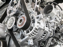 Pieza del motor de coche Fotos de archivo libres de regalías