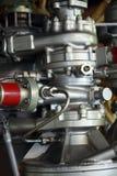 Pieza del motor de la nave espacial fotografía de archivo