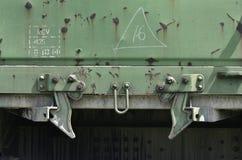 Pieza del railcar de la carga Foto de archivo