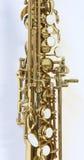 Pieza del saxofón Fotos de archivo