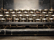 Pieza del teclado arruinado fotos de archivo libres de regalías