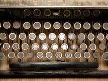 Pieza del teclado arruinado foto de archivo