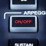 Pieza del teclado de Midi Imagen de archivo