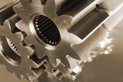 Pieza-idea mecánica Imagen de archivo libre de regalías