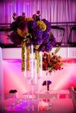 Piezas centrales grandes de la flor Fotografía de archivo libre de regalías