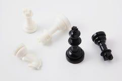Piezas de ajedrez Imagen de archivo