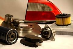 Piezas de automóvil Imagenes de archivo