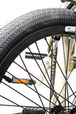 Piezas de la bicicleta Fotos de archivo libres de regalías