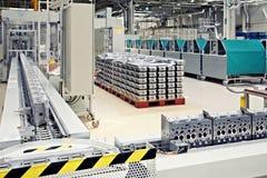 Piezas de la fabricación para el motor Imágenes de archivo libres de regalías