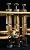 Piezas de la trompeta imágenes de archivo libres de regalías