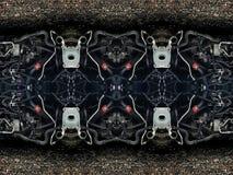 Piezas de tubos del coche, imágenes de archivo libres de regalías
