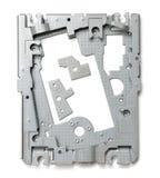 Piezas del dispositivo de alta tecnología Imagen de archivo libre de regalías
