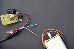 Piezas del dispositivo eléctrico Fotos de archivo