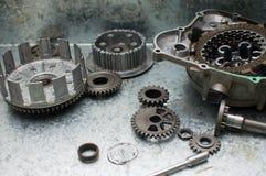 Piezas del motor foto de archivo