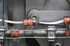 Piezas del motor de aviones 2696 Fotos de archivo libres de regalías