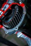 Piezas del motor del engranaje Foto de archivo libre de regalías