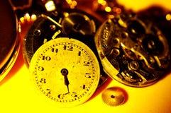 Piezas del reloj Foto de archivo libre de regalías