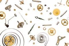 Piezas del reloj Fotografía de archivo libre de regalías