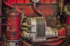 Piezas del tractor de granja Fotos de archivo libres de regalías