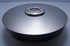 Piezas interiores del mecanismo impulsor de disco duro Fotografía de archivo libre de regalías