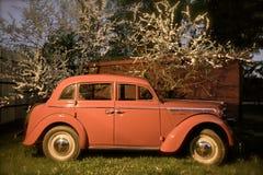 Piezas retras rusas de car foto de archivo