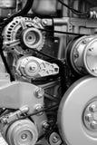Piezas y componentes del motor fotografía de archivo