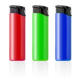 Piezoelectric lighters set. Stock Photography