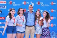 PIF al Giffoni Ekranowy festiwal 2016 Zdjęcie Stock