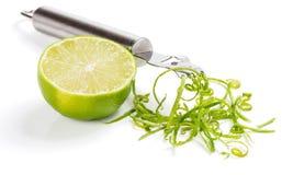 Piff av limefrukt Arkivfoto