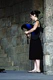 Pifferaio femminile Fotografia Stock