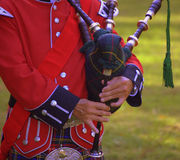 Pifferaio scozzese Fotografie Stock