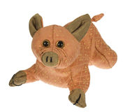 PiG. Toy for kids pink Stock Photo