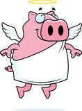 Pig Angel Royalty Free Stock Photos