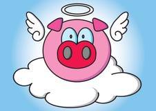 Pig Angle Stock Photo