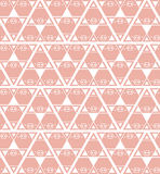 Pig background pattern pink Stock Photo