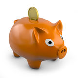 Pig bank Royalty Free Stock Images