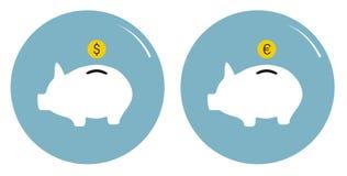 Pig bank Royalty Free Stock Image