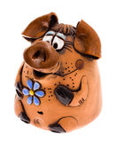 Pig box Royalty Free Stock Images