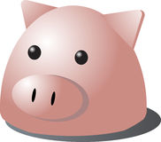 Pig cartoon Royalty Free Stock Photo
