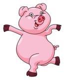 Pig Cartoon Stock Photography