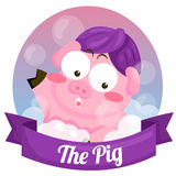 The Pig Royalty Free Stock Photo