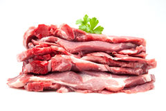 Pig chops Stock Images