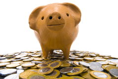 Pig Coin Bank Stock Photography